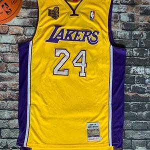 Kobe Bryant 2009-10 Lakers Championship Jersey